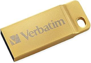 Verbatim 16GB Metal Executive USB 3.0 Flash Drive - Gold
