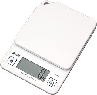 TANITA Digital cooking scale-1kg White KD187-WH