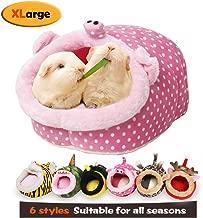 MYIDEA Warm Guinea Pigs Bed,Hedgehog Winter Nest,Rat Chinchillas & Small pet Animals Bed/Cube/House, Habitat, Lightweight, Durable, Portable, Cushion Big Mat