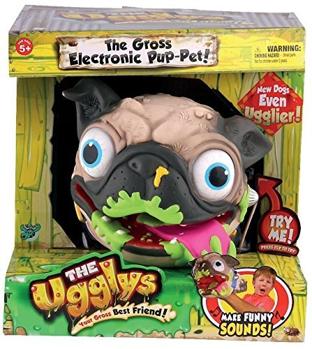Uggly's Pug Electronic Pup Pet by Ugglys