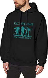 Men's Hoodie US Navy Seals Peace is Our Legacy Hooded Sweatshirt