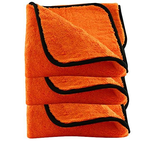 Liquid Elements Orange Baby Trockentuch 3 Stk.