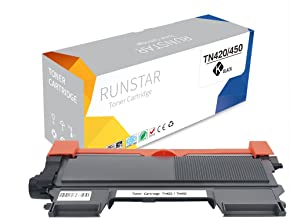 Run Star TN420 Compatible for Brother TN450 Toner Cartridge Replacement for Brother HL-2270DW MFC-7860DW MFC-7360N HL-2280DW HL-2240 MFC-7460DN DCP-7065DN HL-2240D HL-2230 Printer, 1 Pack