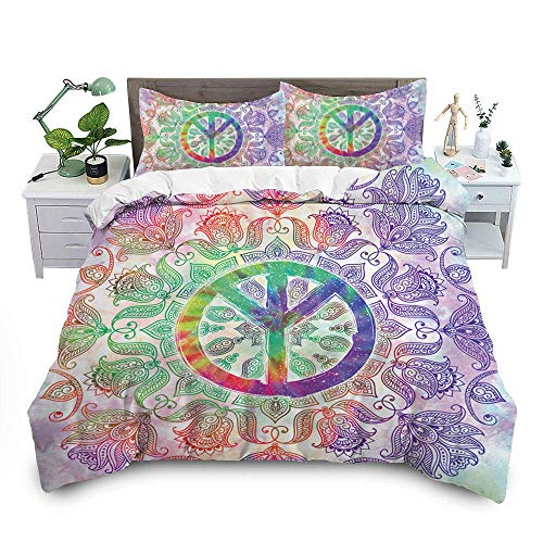 Bedclothes-Blanket Juegos de Fundas para edredón,3D de Tres Piezas está encajada en la Ropa de Cama Digital-2_264cm * 224cm