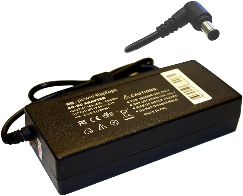 Power4Laptops AC Adapter LCD Portland Mall Max 63% OFF LED Compatible TV Supply Power with