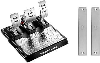 Thrustmaster レーシングペダル&コックピットアダプターセット T-LCM Pedals & T-LCM Cockpit Adaptor SET ロードセルブレーキ ブレーキの抵抗調整 ペダルごとのデッドゾーン設定 PC PS4 Xb...