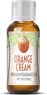 Orange Cream Scented Oil by Good Essential (Huge 1oz Bottle - Premium Grade Fragrance Oil) - Perfect for Aromatherapy, Soaps, Candles, Slime, Lotions, and More!
