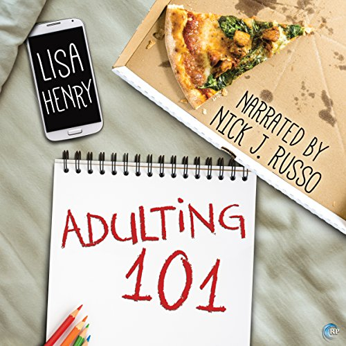 Adulting 101 audiobook cover art