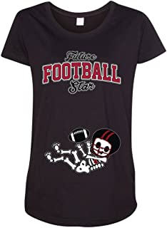 Future Football Star Atlanta Baby Skeleton Maternity DT T-Shirt Tee