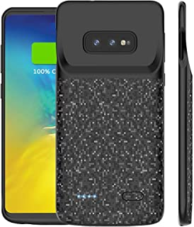 Galaxy S10e Battery Case, ShowTop 4700mAh Protective Portable Charger Charging Case Extended Rechargeable Backup Power Case Cover for Samsung Galaxy S10e