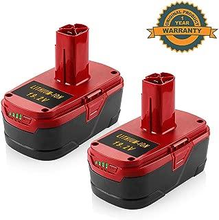 2Pack 6000mAh 19.2V C3 Battery for Craftsman 130279005 19.2-Volt DieHard XCP 1323903 130211004 11045 315.115410 315.11485 Cordless Tools Batteries