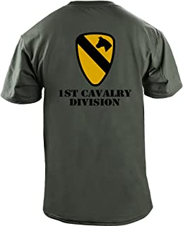 Army 1st Cavalry Division Full Color Veteran T-Shirt
