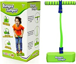 KiddyPlay Bungee Jumper - Childrens Fun & Safe Soft Pogo Stick Bouncer