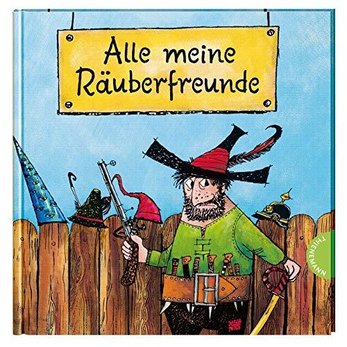 Der Räuber Hotzenplotz: Alle meine Räuberfreunde: Freundebuch mit lustigen Fragen für Kindergarten & Schule