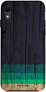 Macmerise IPCIXRTMI2298 Wood Stripes Blue - Tough Case for iPhone XR - Multicolor (Pack of1)