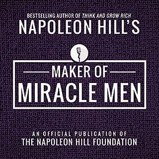Maker of Miracle Men audiobook cover art
