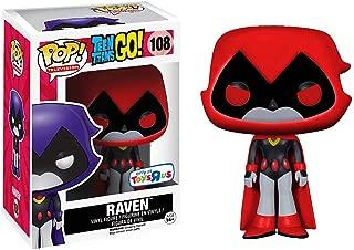 Funko Raven [Red] (Toys R Us Exc) Pop TV Vinyl Figure & 1 Compatible Graphic Protector Bundle (09509 - B)