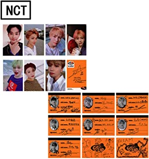 Kpop NCT Dream We Go Up Photo Postcard Signature Lomo Cards Set Gift for A.R.M.Y (NCT-1)