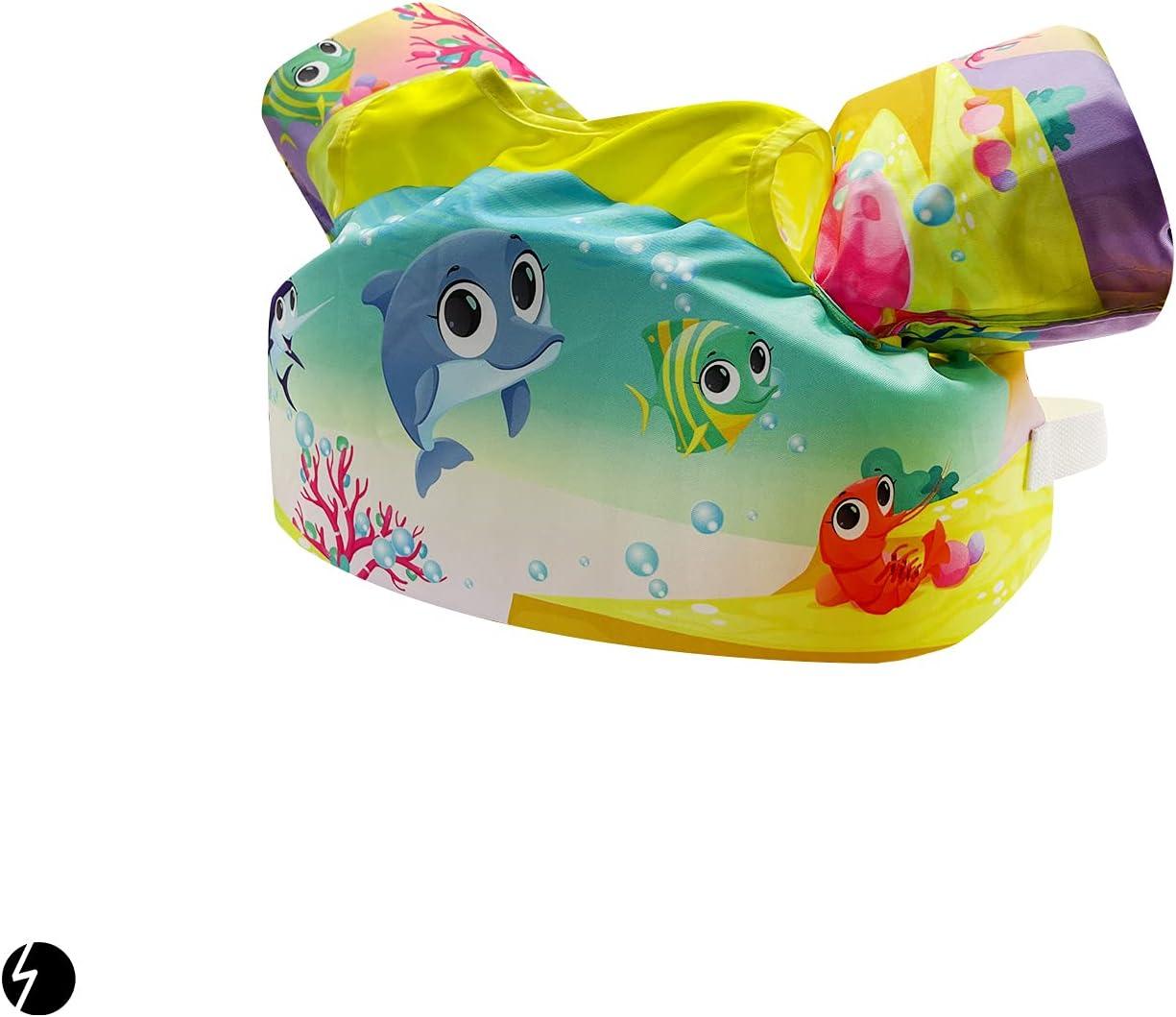 TaktZeit Kids Swim Float Los Raleigh Mall Angeles Mall Vest 30-50 Toddler lbs Vests