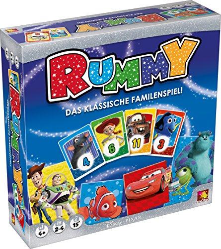 Asmodee 002802–Juego de Mesa–Disney Rummy