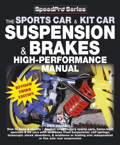 The Sportscar & Kitcar Suspension & Brakes High-Performance Manual (English Edition)