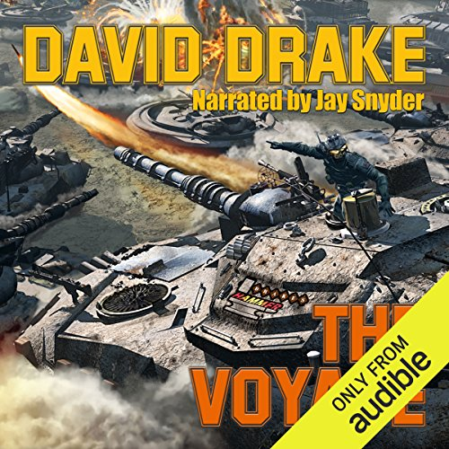 The Voyage audiobook cover art
