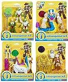 Set of 5 Action Figures Imaginext Serpent Queen & Camel, Mummy Guards, Serpent Striker, Mummy Maker