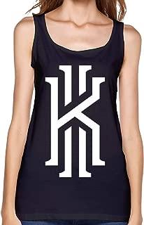 Kyrie K Irving Logo Camisetas sin Mangas para Mujer Blancas Camisetas sin Mangas Camiseta Deportiva Fitness