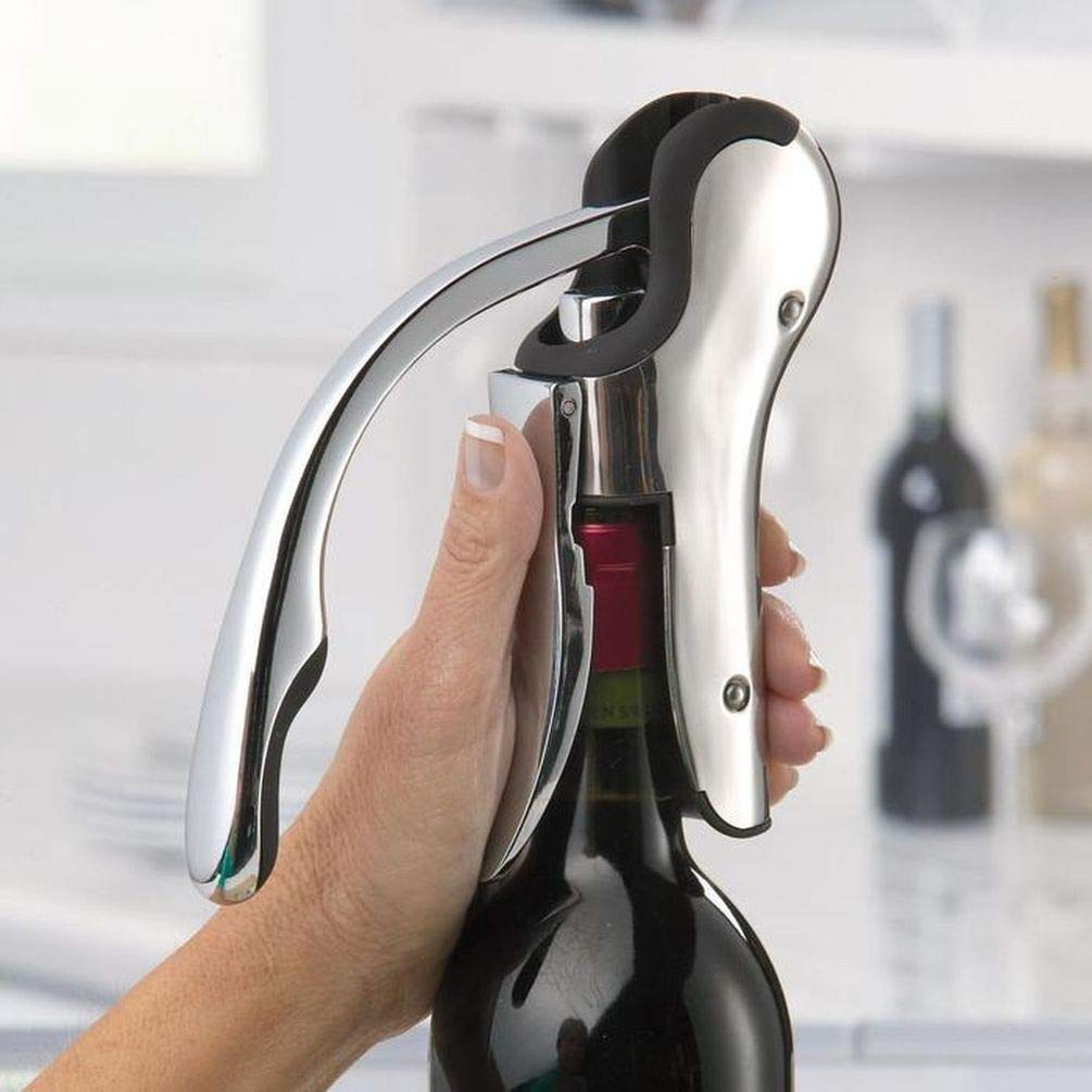 Keissco Compact Stainless Vertical Corkscrew