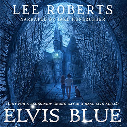 Elvis Blue audiobook cover art