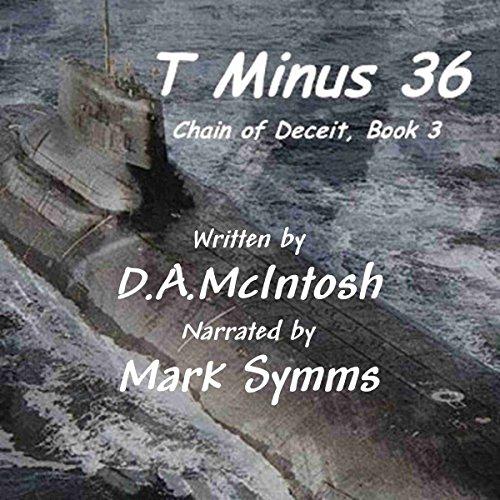 T Minus 36 audiobook cover art
