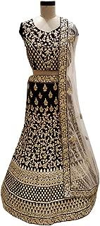 SHRI BALAJI 8964 Wine Indian Hit Latest Velvet Lehenga Chli Heavy Embroidery Work Bridal wedding cocktail wear Ethnic Women Girls Semi Stitched