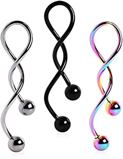 Best twist belly button ring Reviews