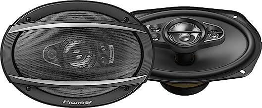 """Pioneer TS-A6990F 6×9"""" 5-way car audio speakers (Pair),blk"""
