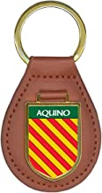 Aquino Family Crest Coat of Arms Key Chains