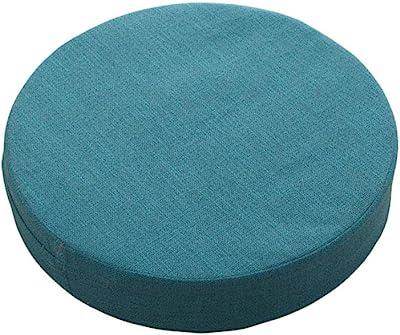 Amazon.com: VORCOOL - Cojín redondo de lino para asiento de ...