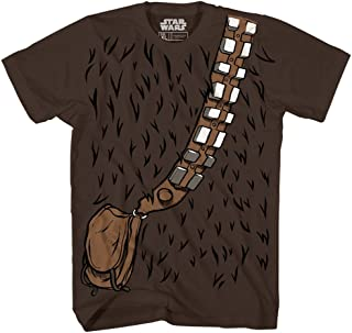 Chewbacca Chewie Costume Funny Humor Pun Adult Men's Graphic T-Shirt