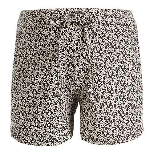 Queen Mum Damen Shorts Jersey AOP Doha Umstandsshorts, Schwarz (Black P090), 42 (Herstellergröße: XL)