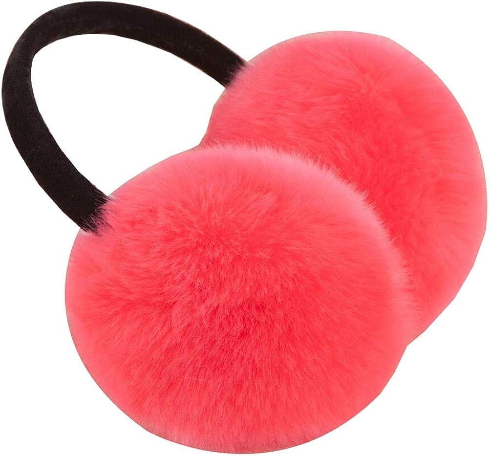Cute Animal Soft Earmuffs Winter Warm Outdoor Ear Covers Headband Fur Ear warmer,#15