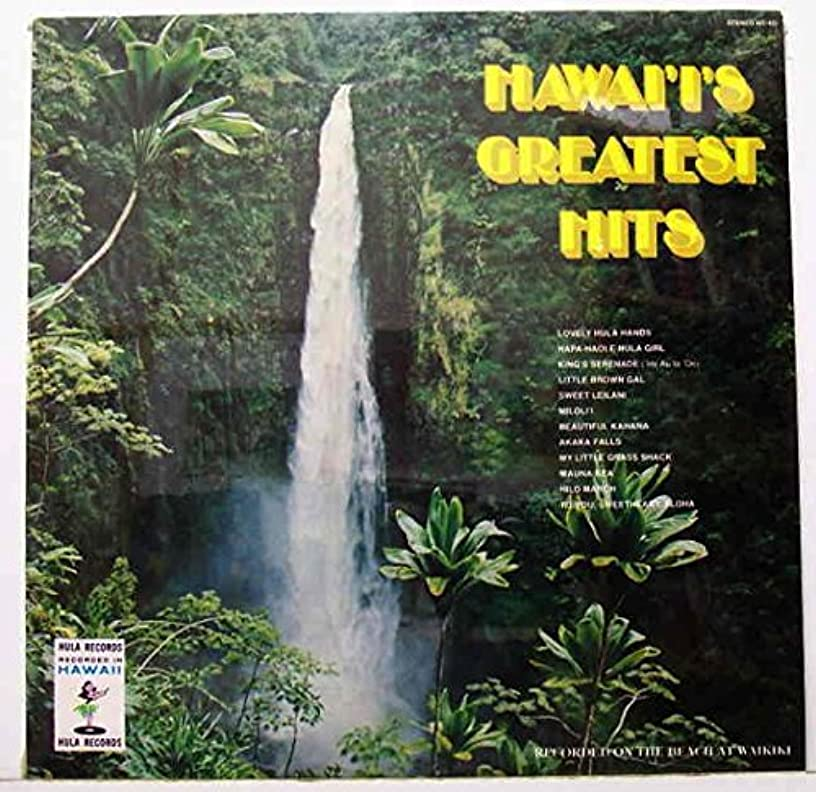 Hawaii's Greatest Hits LP