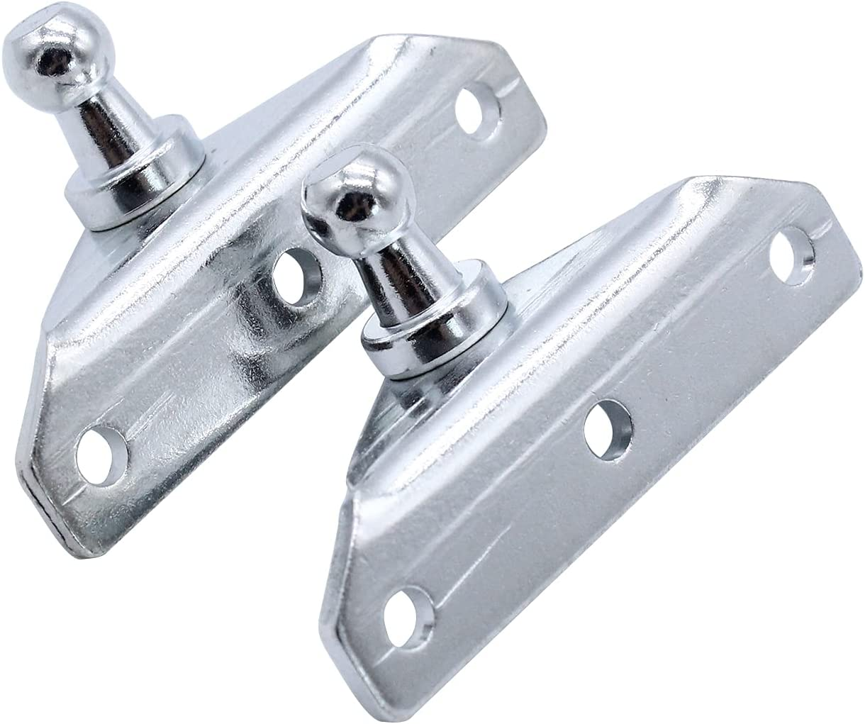 MagiDeal 4 Pcs Ball Stud Brackets for with Surprise price Fit Silver 4 years warranty Screws Str