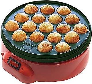 XHLLX Takoyaki Maker Non Stick Électrique Takoyaki Maker Barbecue Quail Egg Cuisson Pan Grill Chibi Maruko Machine 18 Trou...