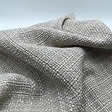 Tweed Jackie Stoff mit Silberfäden – 100 % Polyester –