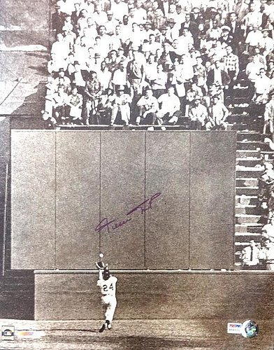 Willie Mays San Francisco Giants MLB 16x20 Photograph The Catch