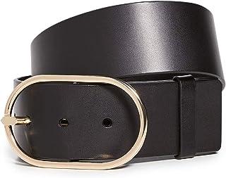 FRAME Women's Grand Oval Buckle Belt