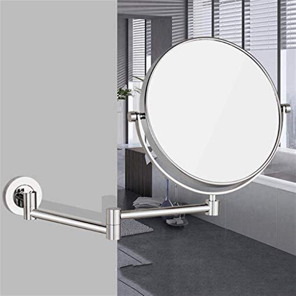 LXGANG Wall Mount Makeup Mirror 8 Price reduction High I Definition San Francisco Mall DH