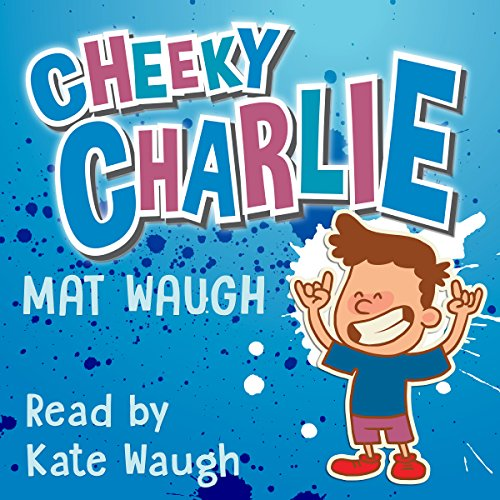 Cheeky Charlie audiobook cover art