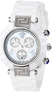 Versace - Reloj con Movimiento Cuarzo Suizo Woman Reve Crono Ceramica 40 mm