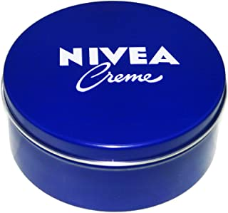 Genuine Authentic German Nivea Cream 13.54 Oz. / 400ml Metal Tin - Made in Germany & Imported From Germany! (2 pack)