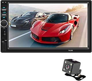 COODIO Android io/s Interconnection HD 7 Inch Car MP4 Plug-in Vehicle MP5 Player Touch Screen Multimedia Player with Camer...